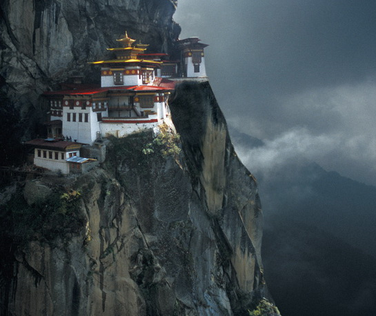 Taktsang Palphug Monastery (also known as Tiger's Nest) in Bhutan